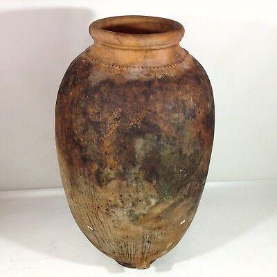 Historische Ton Amphore Terracotta Bodenvase Davidstern Tonvase Dekoration Vase Hohe QualitäT Und Geringer Aufwand