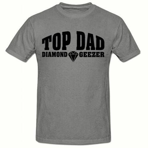 FUNNY NOVELTY MEN/'S T SHIRT,SM-2XL TOP DAD DIAMOND GEEZER T SHIRT