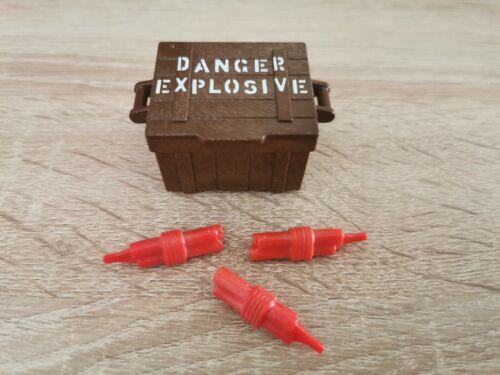 Playmobil Western Zubehör Kiste Dynamit K7
