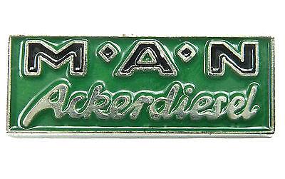 PIN MAN Ackerdiesel Logo Trecker Traktor 1 x 2,5 cm