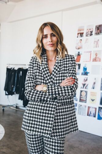 Anine Bing Maureen Houndstooth Blazer- Sold Out- S