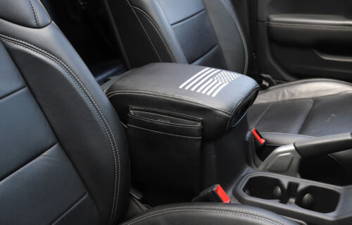 For Jeep Wrangler JL 2018-19 Center Console Armrest Pad Cover with// Storage Bag