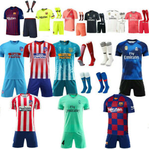 1680ccec675 Image is loading Custom-Football-Outfit-Strips-Soccer-Suits-Training-Jerseys -