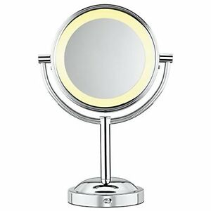 Conair Makeup Mirror Double Sided Battery Lighted 5x