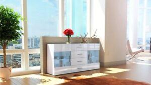 Credenza Moderna In Offerta : Offerta madia moderna modello open bianca ebay