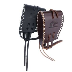 Leather-Recoil-Pad-Slip-on-Rifle-Shotgun-Buttstock-Extension-Hand-Stitching