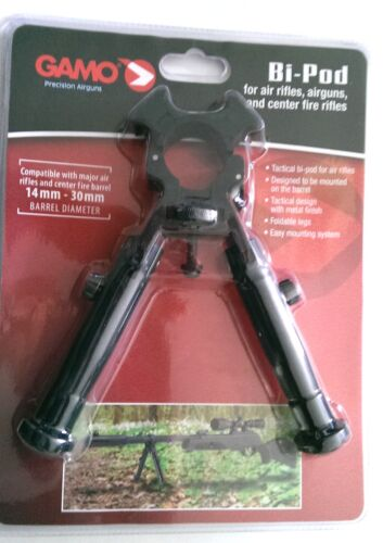 fits air gun rifles /& the Whisper /& most 14-30mm 177 and 22 barrrels Gamo BIPOD