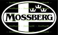 Mossberg Firearms - Hunting/Outdoor Sports - Vinyl Die-Cut Peel N' Stick Decals