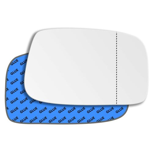 Right Driver Side Wide Angle Mirror Glass for Peugeot 807 2002-2010 0154RAS
