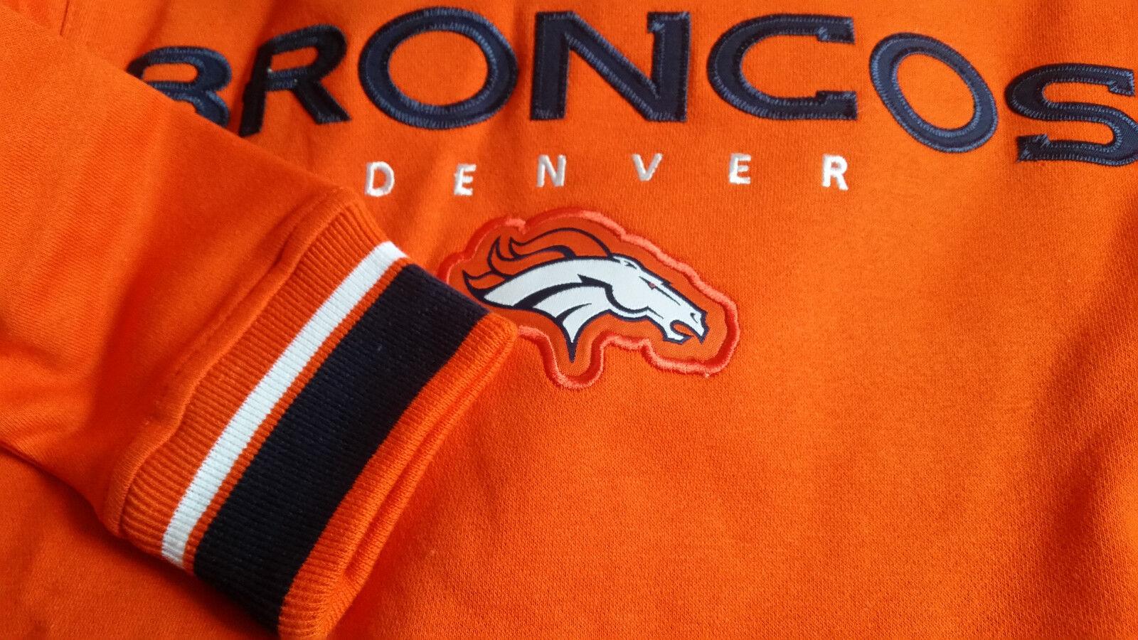 NFL Hoody Denver Broncos Hoodie Hoodie Hoodie Kaputzenpullover Championship Sweater hooded fd4960