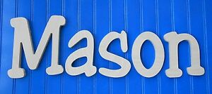 Wooden-Wall-Letters-10-034-size-Unpainted-Wood-Child-Nursery-Playroom-Decor-Jester