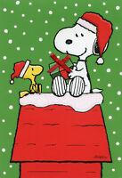 Peanuts Snoopy Woodstock Gift Exchange - Box Of 16 Hallmark Christmas Cards