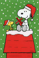 Peanuts Snoopy Woodstock Gift Exchange - Box Of 16 Hallmark Christmas Cards