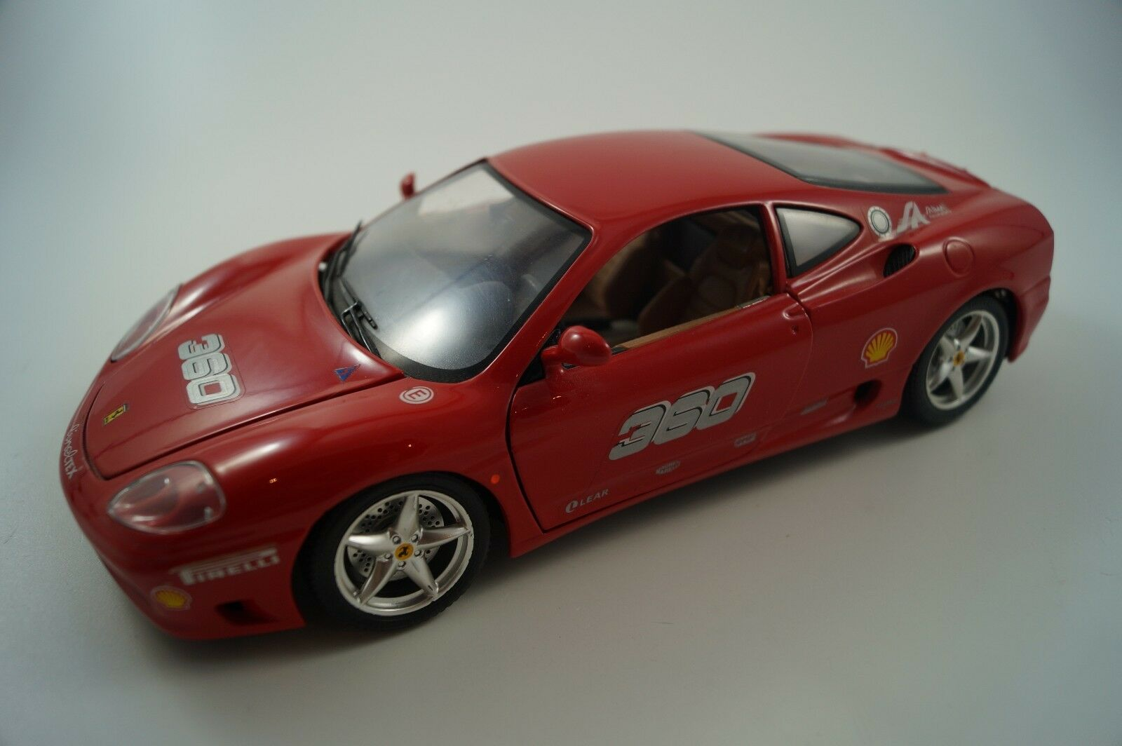 BBURAGO BURAGO voiture miniature 1 18 Ferrari 360 Modena Challenge 1999 Nº 360
