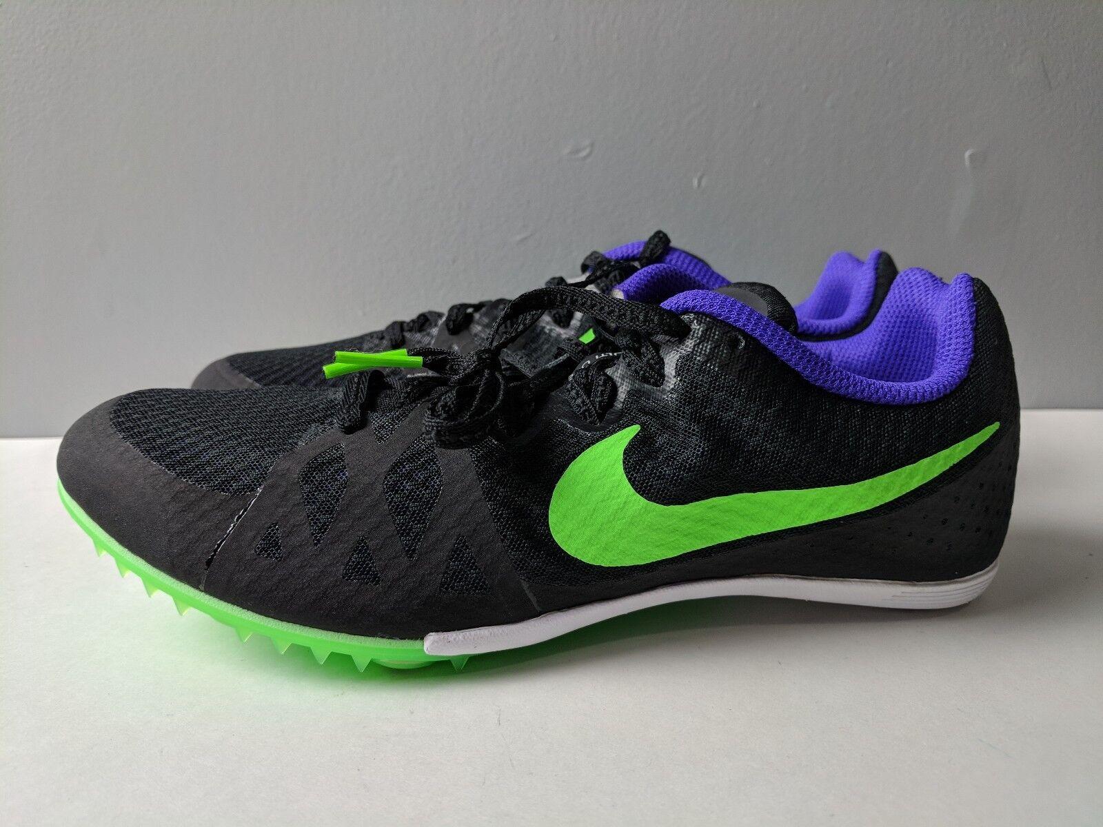 Nike Zoom Rival M 8 Black /Fierce Purple Brand New Comfortable