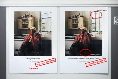Thick A4 300Gsm Inkjet Paper High Glossy Heavy Photo Paper Inkjet Printer Uinkit