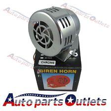 12V Electric Car Truck Motorcycle Driven Air Raid Siren Horn Loud 50s chorm