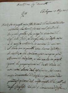 1807-ALCHIMIA-LETTERA-DI-LUIGI-RODATI-BOTANICO-BOLOGNESE-E-IL-BRODO-DI-VIPERA