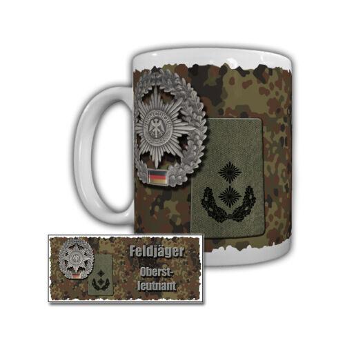 Feldjäger Dienstgrad Tasse auswählbar Rangabzeichen Bundeswehr Militärpolizei BW