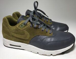 "2b20d2c69bfd Nike Air Max 1 Ultra Look See Sample ""Dark Grey   Olive"" US 7"