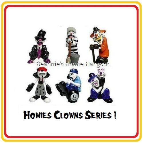 Homies Clowns Series 1-6 Figures set