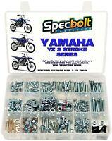Specbolt 296pc Bolt Kit Yamaha Yz 80 85 125 250 Wr Yz125 Yz250 Seat Motor Shroud