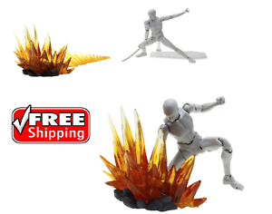 Effect-sword-explosion-yellow-Figuart-Figma-D-arts-rider-1-6-figure-hot-toy