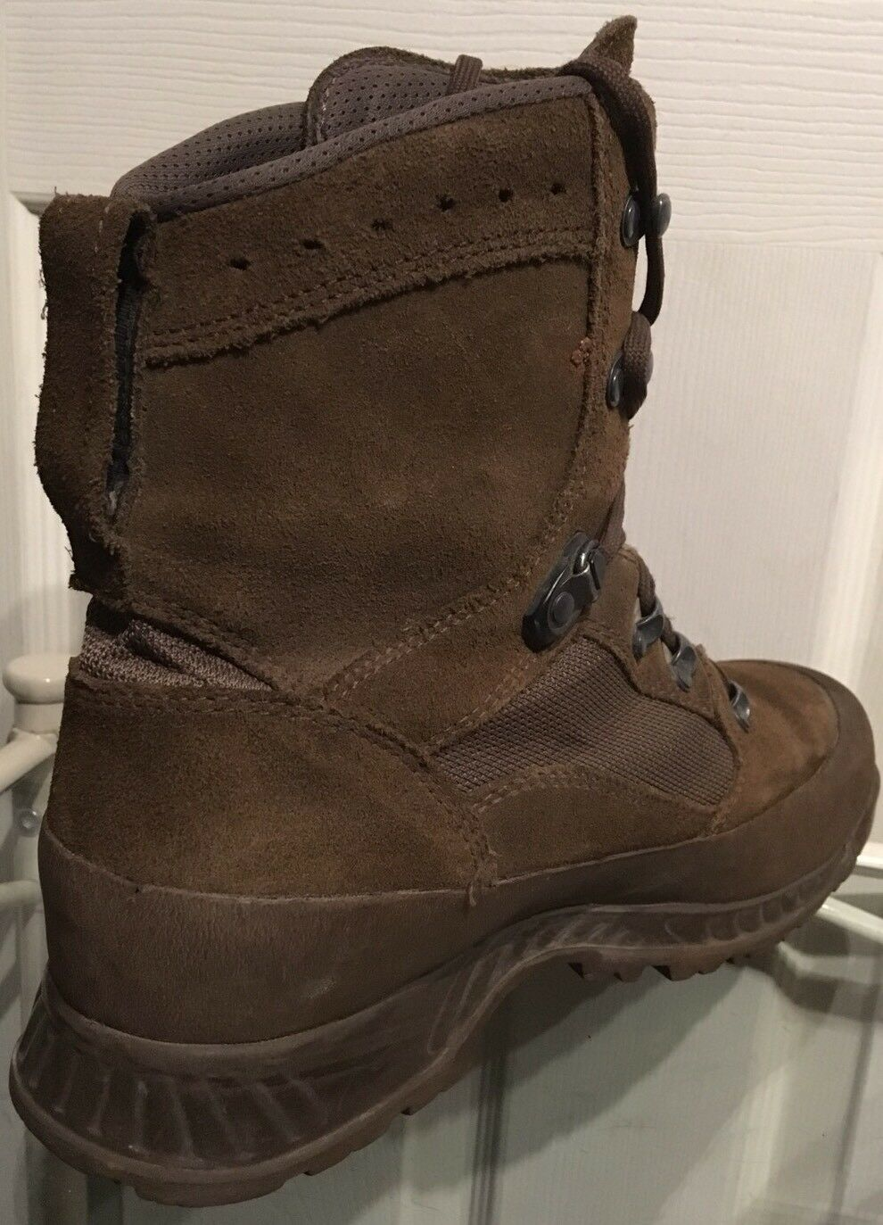 Haix Desert Brown Suede MTP British Army Issue Combat Boots 8M HXD48M
