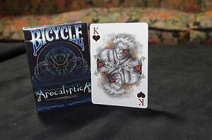 Responsable Carte Da Gioco Bicycle Apocalyptica Chromatics,poker Size Avec Des MéThodes Traditionnelles