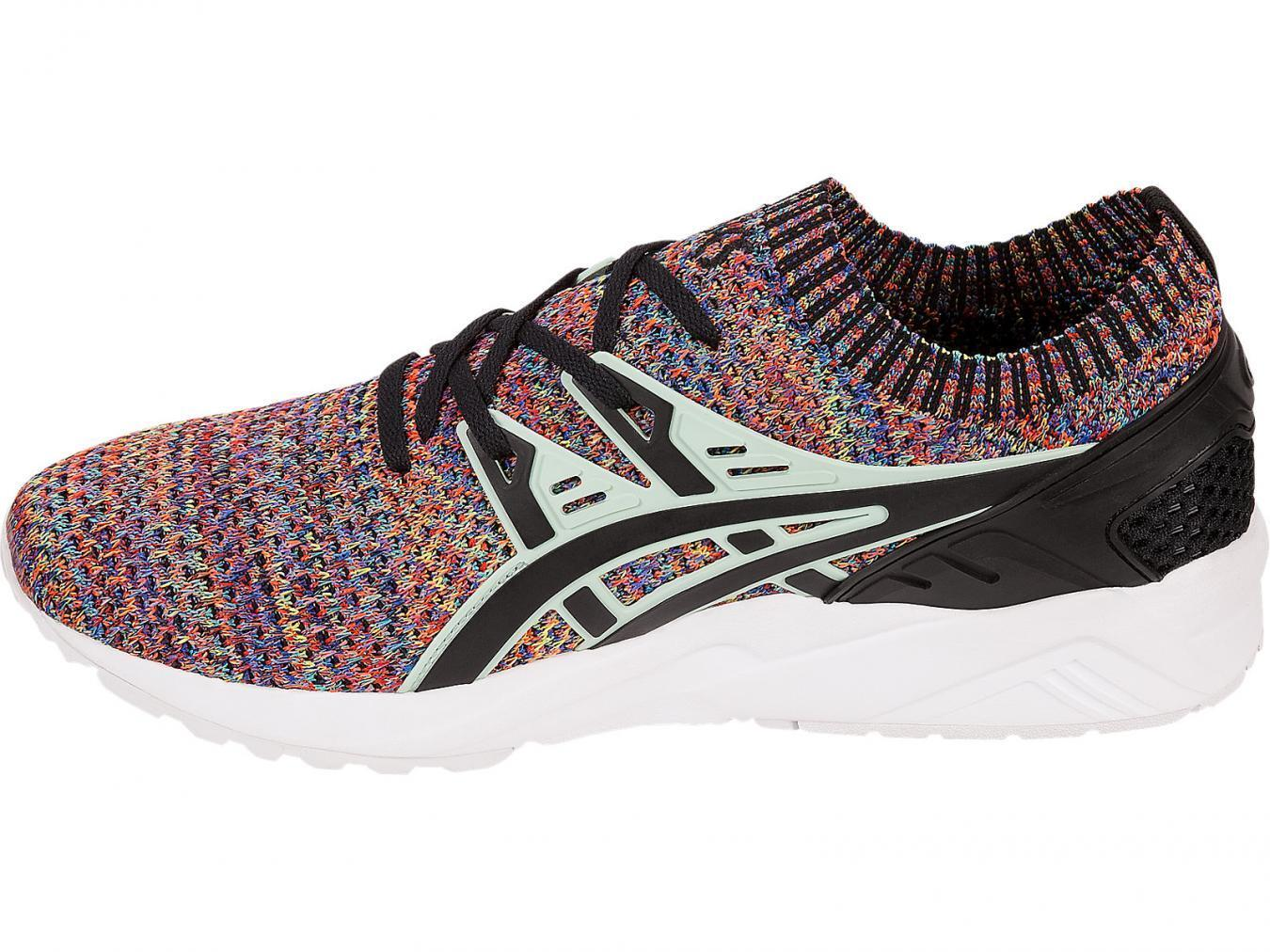 NEW ASICS Tiger Gel Keyano Knit Running Shoe Multi Color HN7Q-9067 Men SZ 9. 5