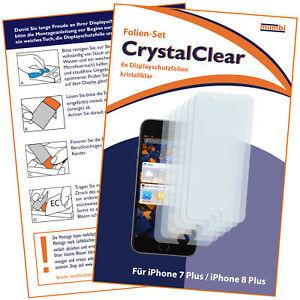 6x-mumbi-Folie-fuer-Apple-iPhone-8-7-Plus-Schutzfolie-Displayschutz-Display-klar