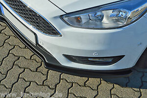 Sonderaktion-Spoilerschwert-Frontspoiler-Lippe-ABS-fuer-Ford-Focus-3-DYB-ABE