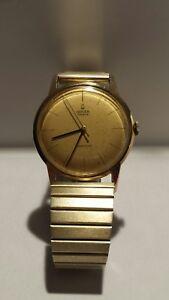 GRUEN-GENEVE-PRECISION-Stunning-Men-039-s-SWISS-Wristwatch-RUNS-amp-great-condition
