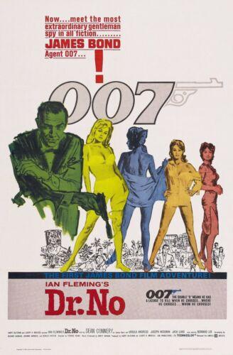 "No 1963 Movie Silk Fabric Poster  27/""x40/"" Dr"