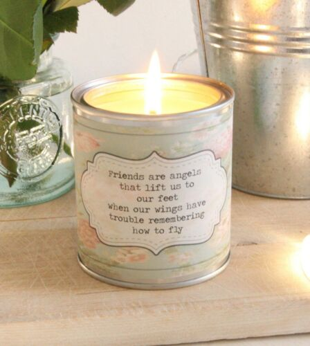 Friendship quote friend scented candle gift