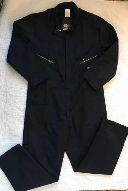 7785ae0231 Dickies Mens Big Tall Long Sleeve Coverall Blue Poly Cotton Blend New 2XLT  XXLT