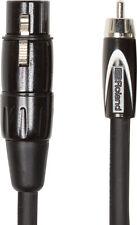 Roland XLR Female to RCA Phono Plug 10ft RCC-10-RCXF