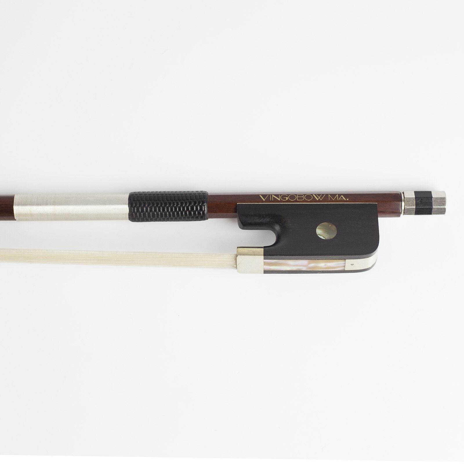 VingoBow Master Level Pernambuco Viola Viola Viola Bow Warm Sweet Tone Straight Well Made ddf52a