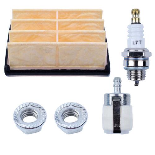Air Filter For Husqvarna 261 262 268 272 394 Bar Nuts Fuel Filter Spark Plug EPA