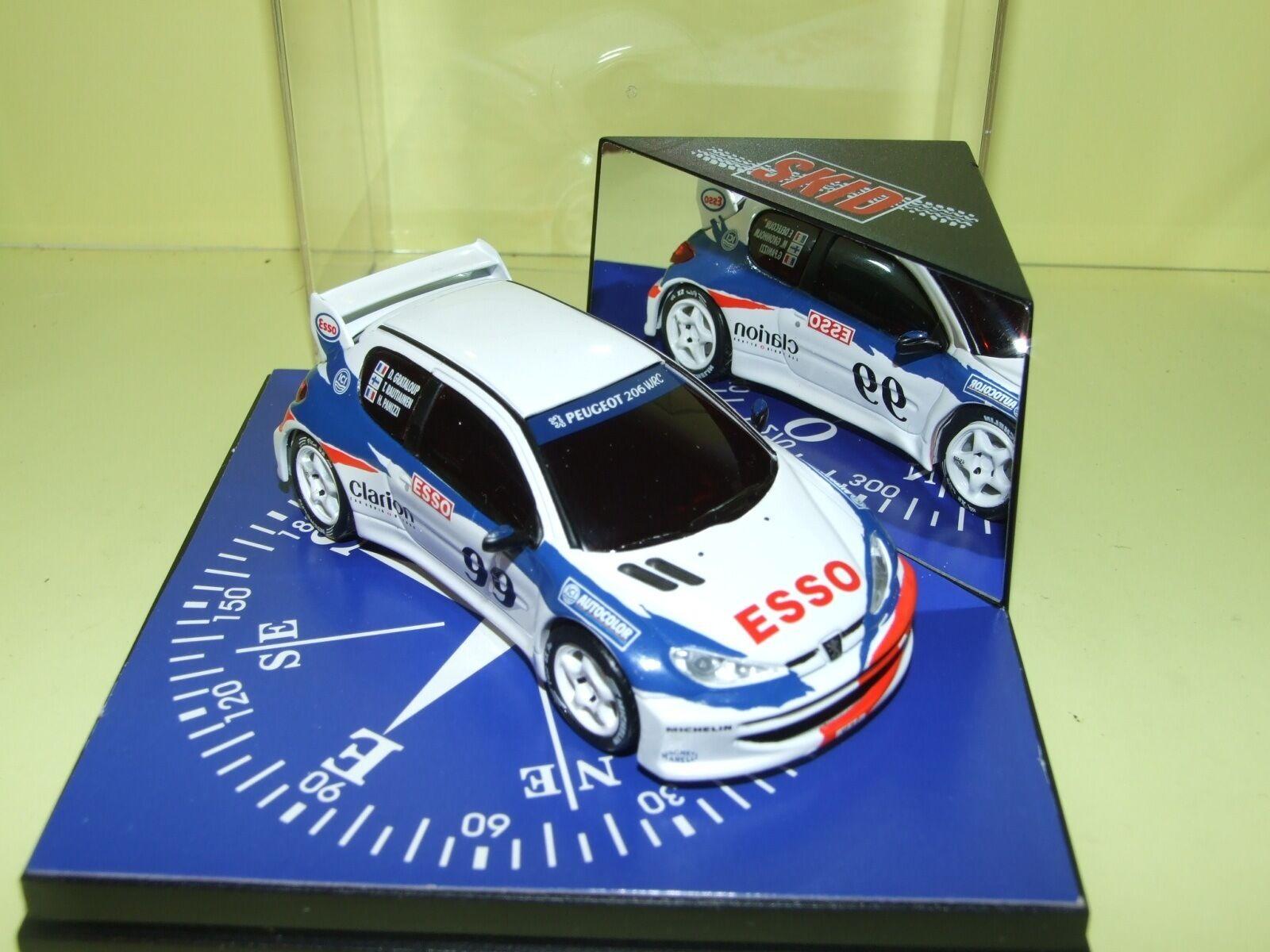 PEUGEOT 206 WRC ESSO SALON DE PARIS 1998 VITESSE 1 43
