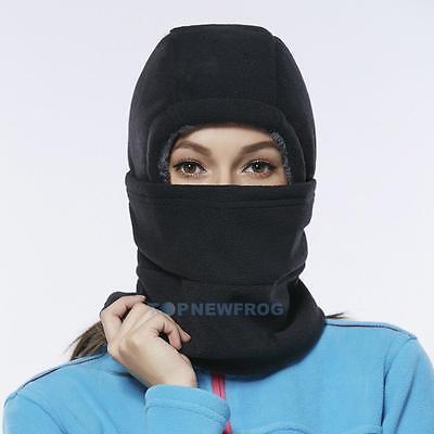 Fleece Thermal Balaclava Ski Snowboard Motorbike Biker Mask Face Hood Hat Cap