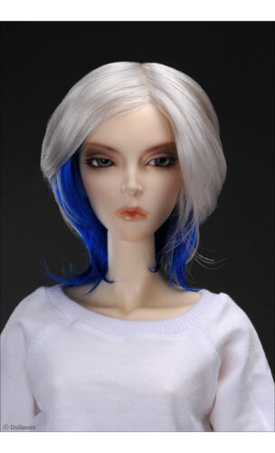 8-9 SD Wig 8-9 inch 20-22 cm 1//3 BJD janus Cut DM Blue