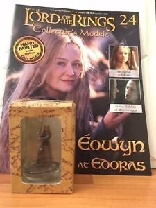 LORD OF THE RINGS COLLECTOR ISSUE 24 EOWYN EAGLEMOSS FIGURE  MAGAZINE - Market Harborough, Leicestershire, United Kingdom - LORD OF THE RINGS COLLECTOR ISSUE 24 EOWYN EAGLEMOSS FIGURE  MAGAZINE - Market Harborough, Leicestershire, United Kingdom
