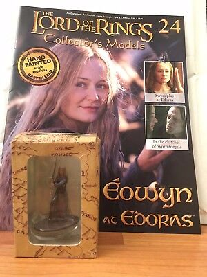 Action- & Spielfiguren Trendmarkierung Lord Of The Rings Collector Issue 24 Eowyn Eaglemoss Figure Magazine Wir Haben Lob Von Kunden Gewonnen Spielzeug