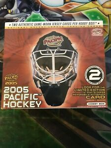 NHL-2005-Pacific-Factory-Sealed-Hobby-Box-1-Box-Vintage-Hockey