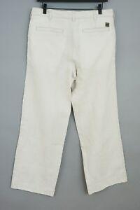 Hombres-Hugo-Boss-Pantalones-Barrett-Lino-Calce-Recto-Casual-Talla-48-W32-L30-JCA78