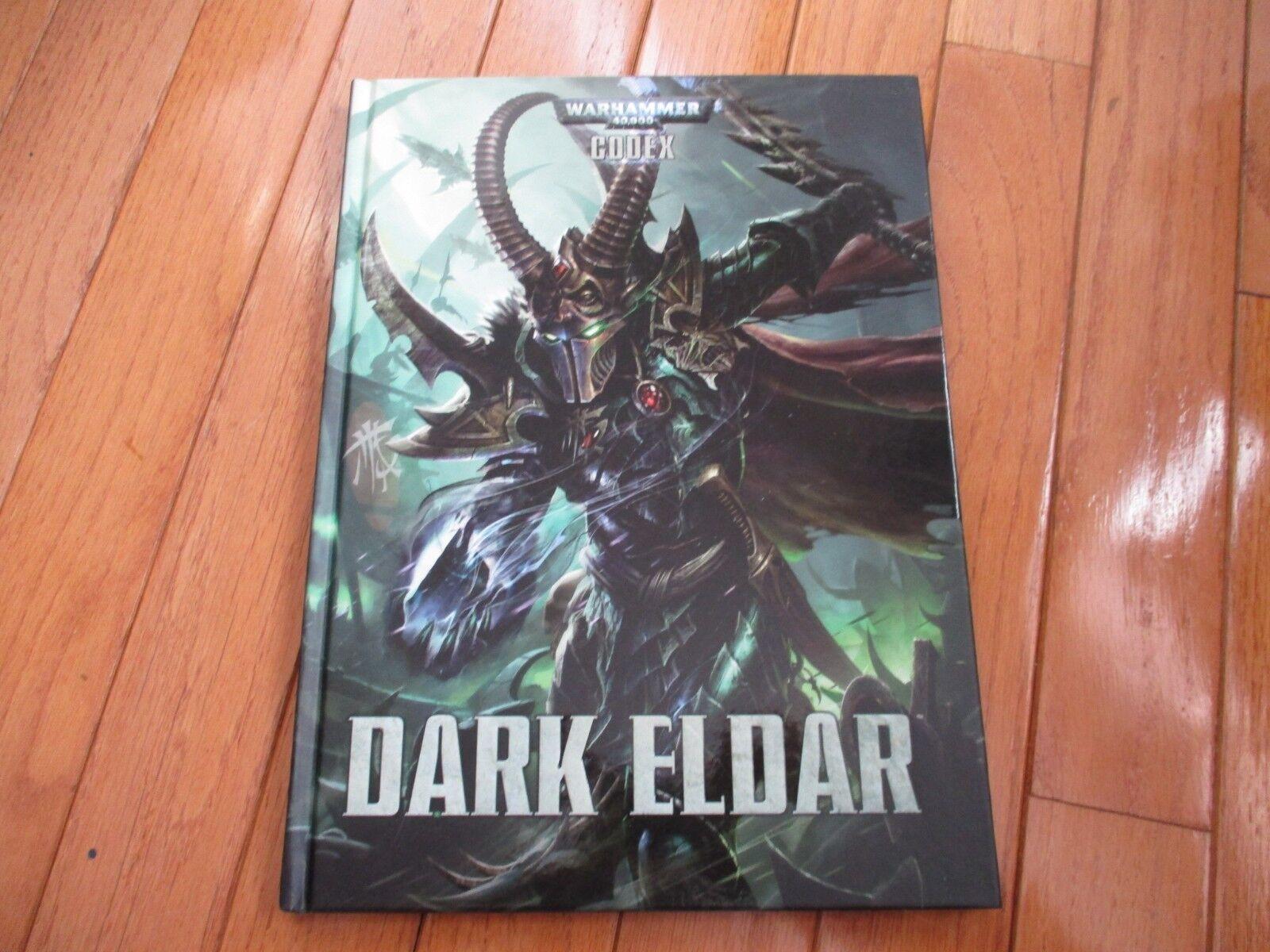 Warhammer 40K Codex Dark Eldar 2014 HC