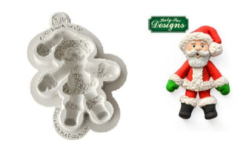 Katy Sue Designs Sucre Boutons Père Noël Sucre Artisanat Moule