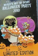 Disney Halloween WDW - MNSSHP 2010 - Chip and Dale as Cowboys Pin