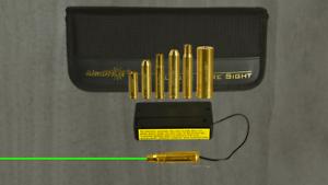 KT-rifle GREEN moudular bore sight rifle caliber kit boresight aimshot